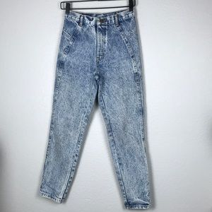 Vintage Chic high rise avid wash skinny jean